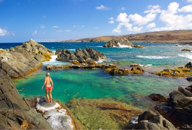 6 actividades de ecoturismo para hacer en Aruba - aruba-naturalpool-1024x694