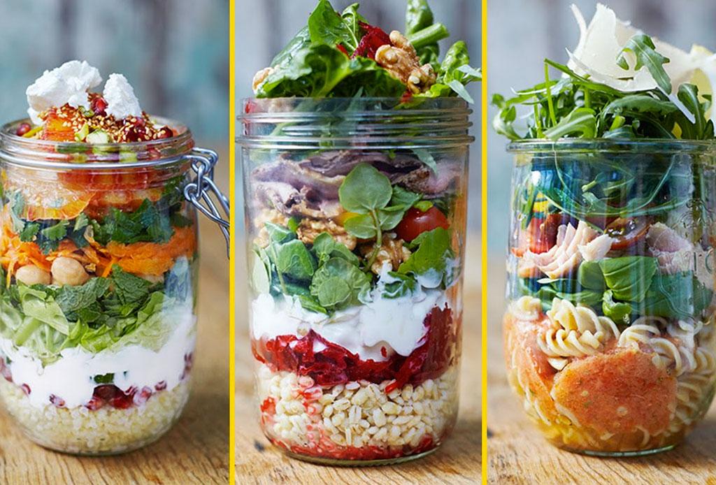 Desayunar ensalada: una nueva tendencia para los más ocupados - ensalada