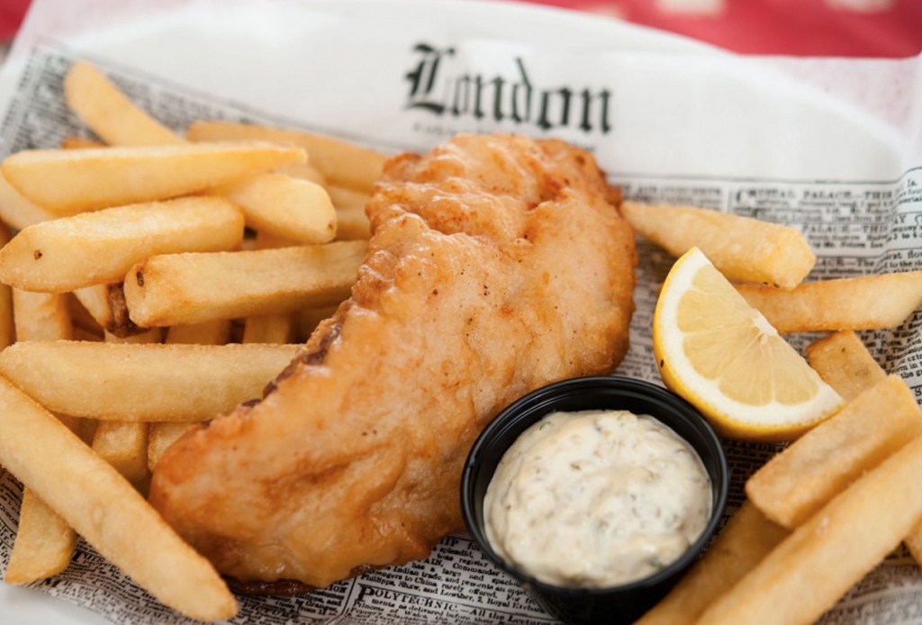 Un favorito del mundo: papas a la francesa - f-fish-chips