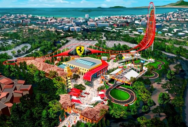 El parque de diversiones Ferrari Land conquistará España - parque-tematico-ferrari-2-1024x694