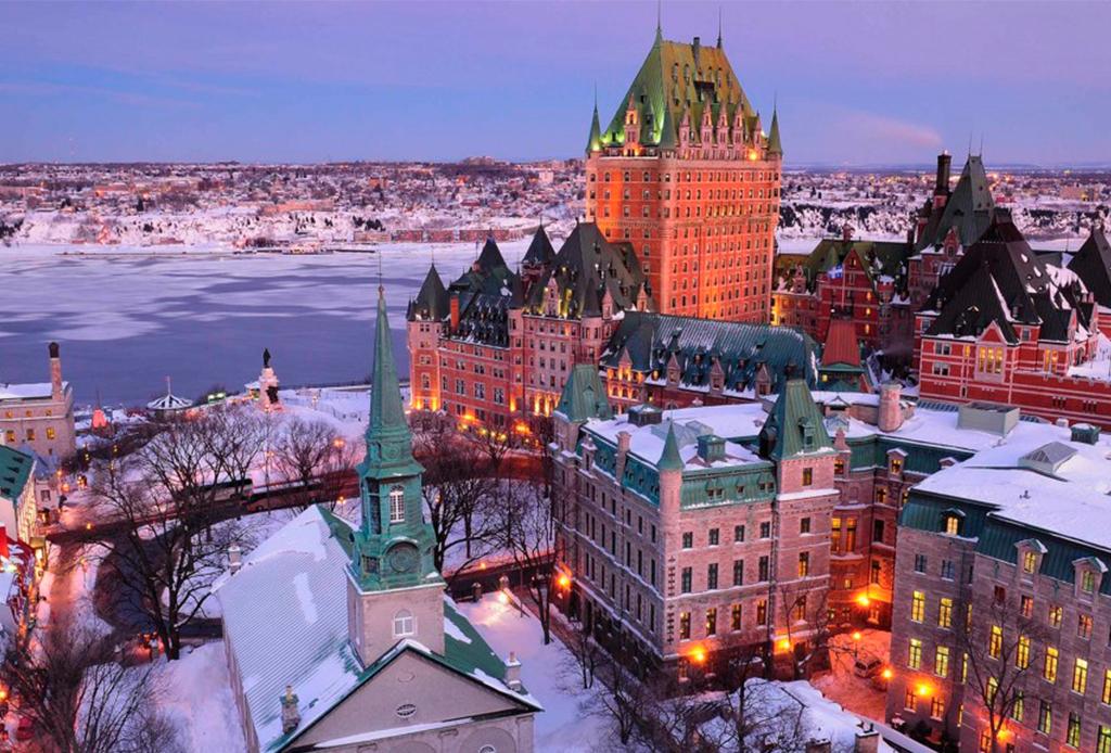 Quebec celebra el invierno como ningún otro lugar en el mundo