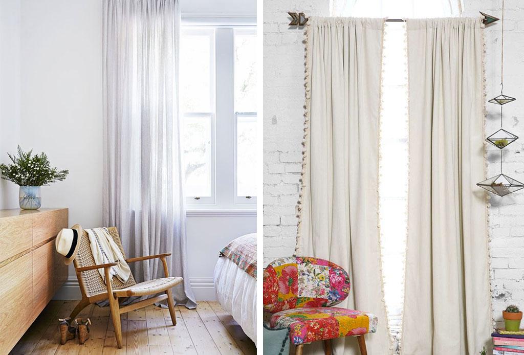 ¿Qué cambios hacer en la decoración de tu habitación cuando hace calor? - coritnas