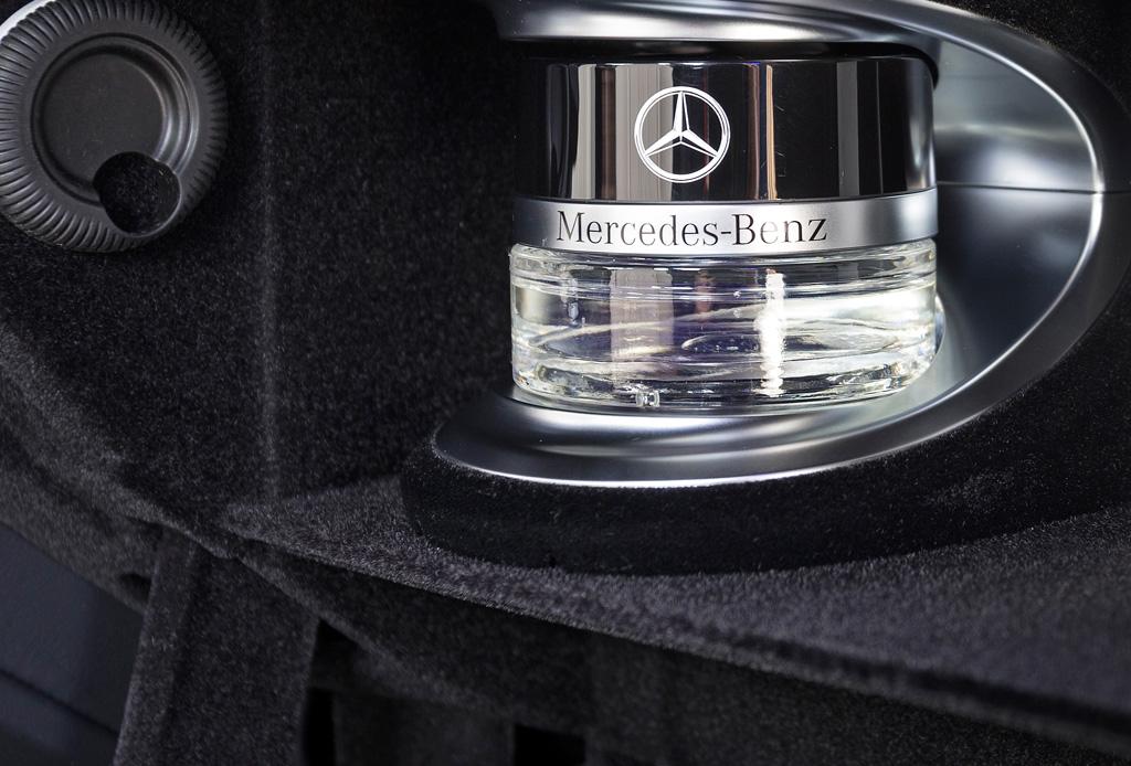 Las fragancias de Mercedes-Benz para tu auto