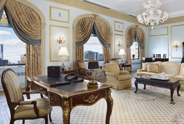 El hotel Waldorf Astoria de Nueva York cierra sus puertas - waldorf-astoria-cuarto-1024x694