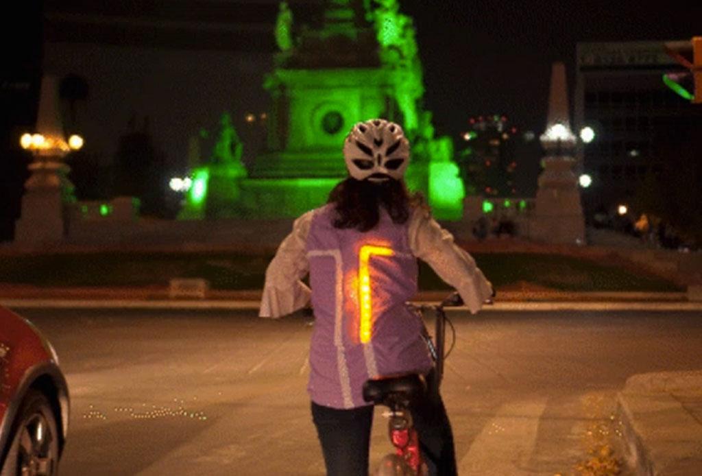 Tuibo: un chaleco para ciclistas hecho por mexicanos