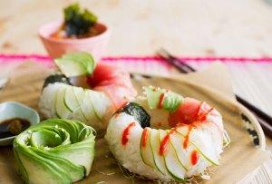 Estamos obsesionados con las donas de sushi
