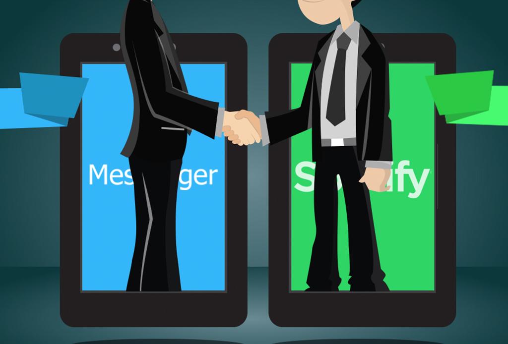 ¡Ya puedes escuchar Spotify en Facebook Messenger!