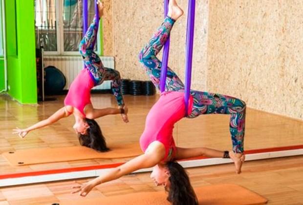AntiGravity Yoga: la rutina fitness de un astronauta - antigravity-1024x694