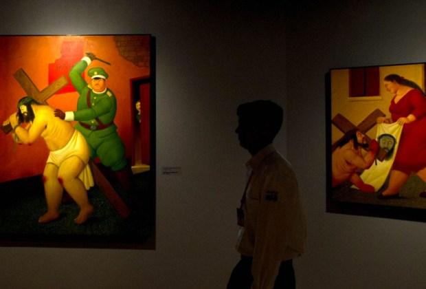 La obra de Botero llega a México al CECUT Tijuana - botero-via-crucis-1024x694