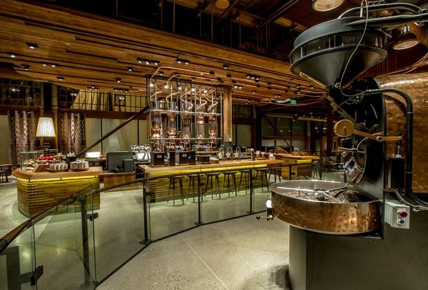 La cafetería de Starbucks más grande del mundo será de 4 pisos - granos-1024x694