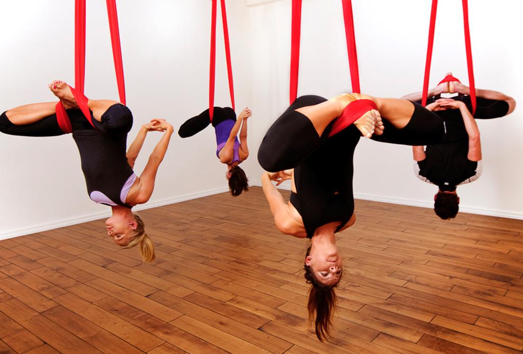 AntiGravity Yoga: la rutina fitness de un astronauta