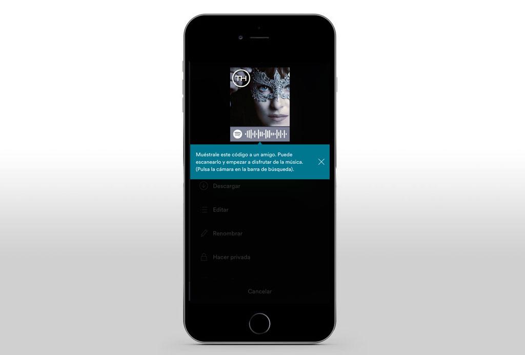 Te decimos cómo crear y compartir tu música con los códigos de Spotify - th-5