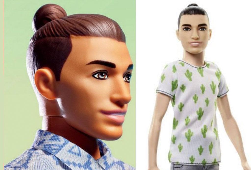 Mattel le hace un makeover a Ken y le pone ¡man bun! - man-bun-ken