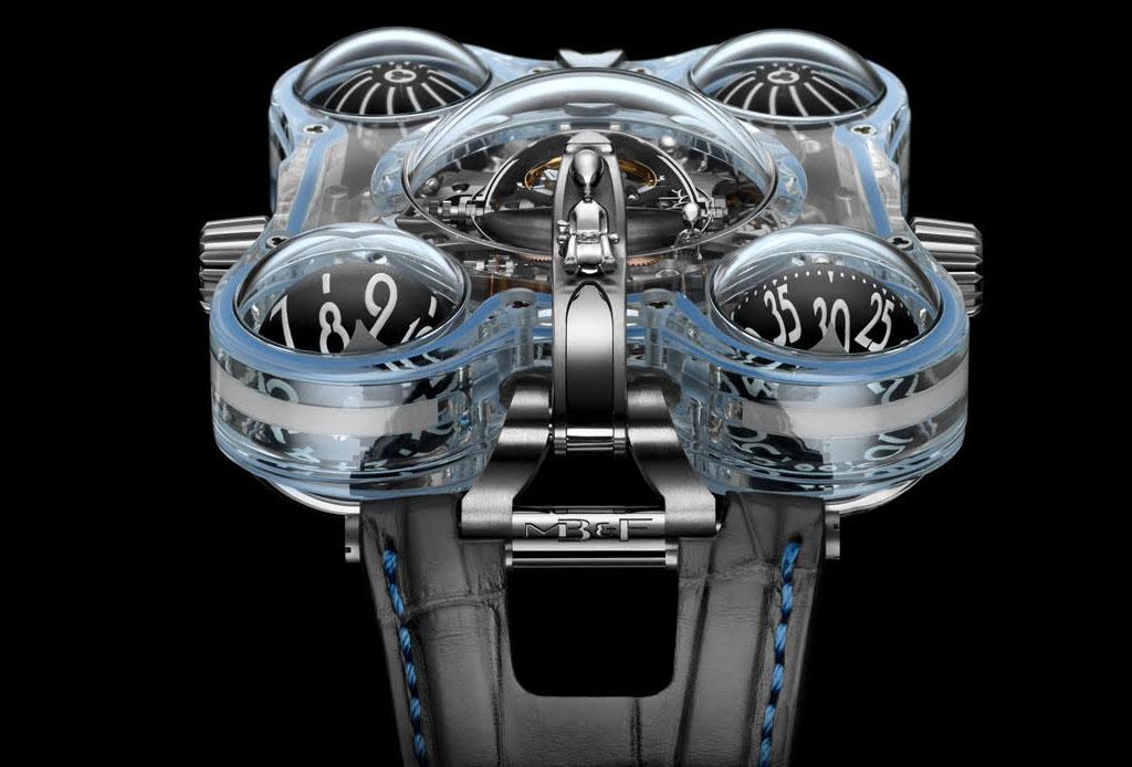 ¡Los aliens invaden el mundo de la relojería!