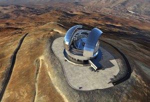 Comienzan a construir el telescopio más grande del mundo