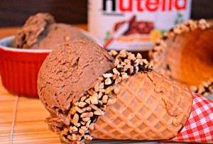 ¿Amas la Nutella? Este helado preparado en casa es lo que necesitas ¡ya!