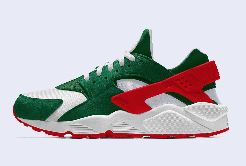 cruzar Del Sur Resolver  Ahora puedes personalizar tus Nike ¡con los colores de México!