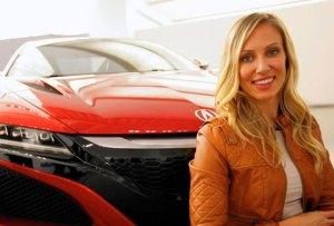 La mujer detrás del diseño del superdeportivo NSX de Acura