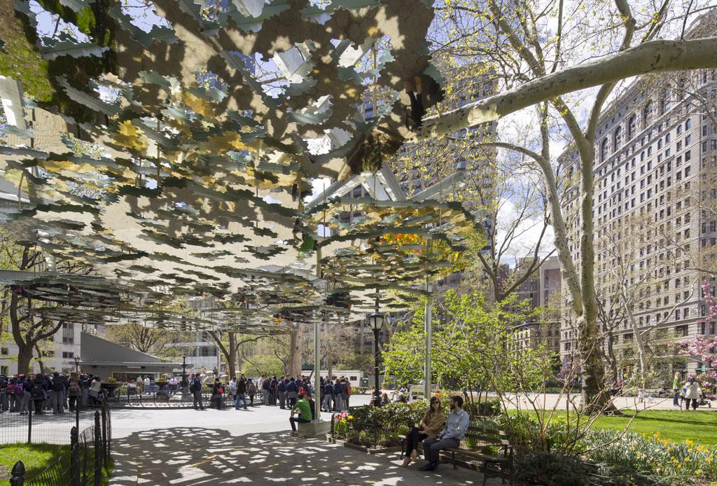 La instalación de arte que tomará el Madison Square Park de Nueva York - arte-3
