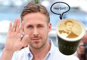 En este lugar podrás pedir un café con la cara de Ryan Gosling