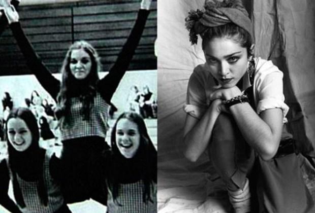 ¡Estas celebridades solían ser porristas! - madonna-1-1024x694