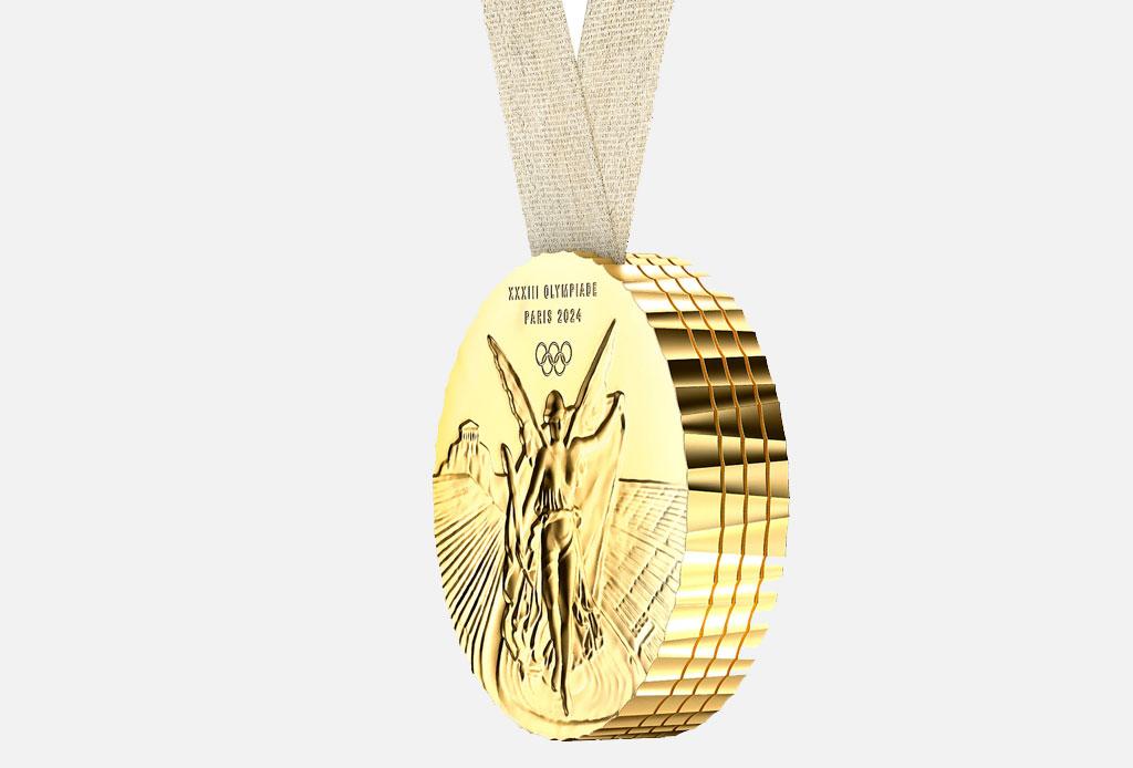 ¡Philippe Starck será el diseñador de la medalla olímpica de Paris 2024! - medalla-starck