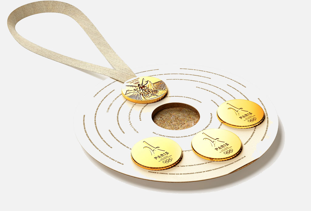 ¡Philippe Starck será el diseñador de la medalla olímpica de Paris 2024! - medallas