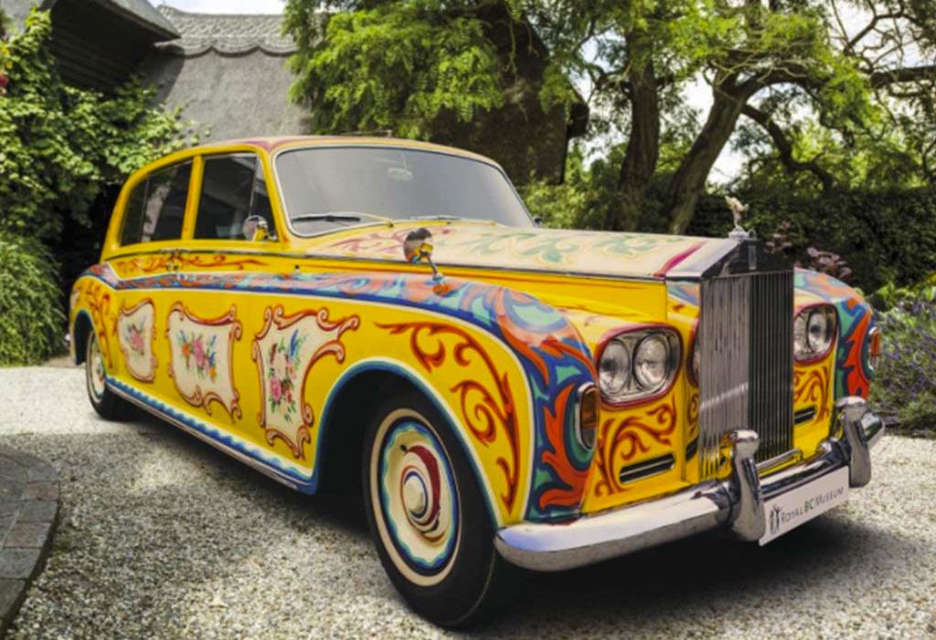 Conoce el Rolls-Royce Phantom V con el que John Lennon hizo historia - rolls-royce-lennon