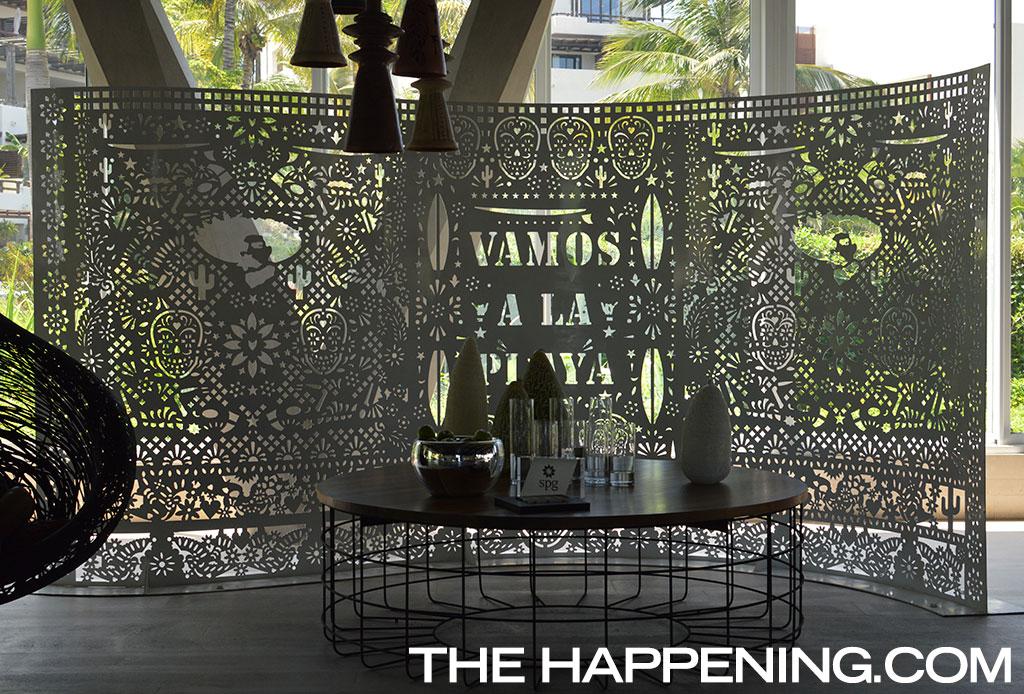 La fascinante decoración del Hotel W Punta de Mita inspirada en el arte huichol - th-7