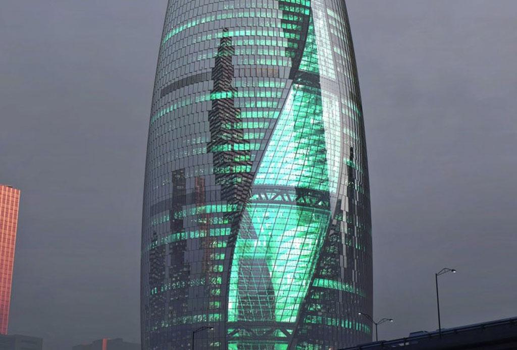 El nuevo atrio más alto del mundo es obra de Zaha Hadid - atrio-zaha-hadid-2