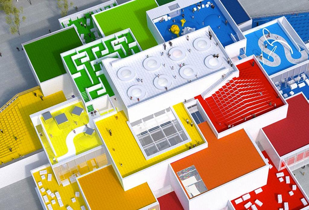 Resultado de imagen para lego house dinamarca