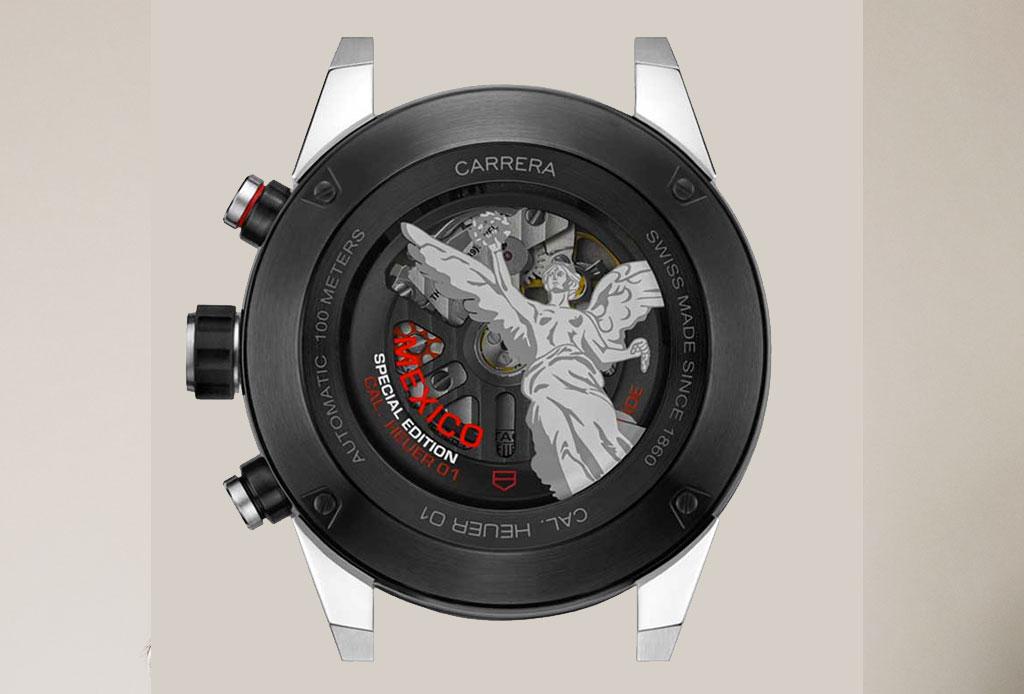 TAG Heuer creó una edición especial inspirada en el Ángel de la Independencia - carrera-mexico-tag-heuer
