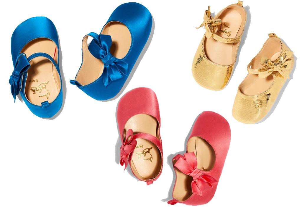 Christian Louboutin lanza colección para bebés y el resultado es demasiado cute