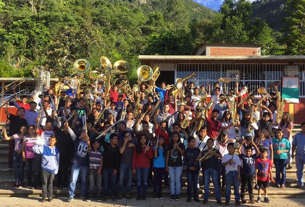 Una banda de niños oaxaqueños cantará el Himno Nacional en la inauguración de la Formula 1 - ninos-oazaca-himno