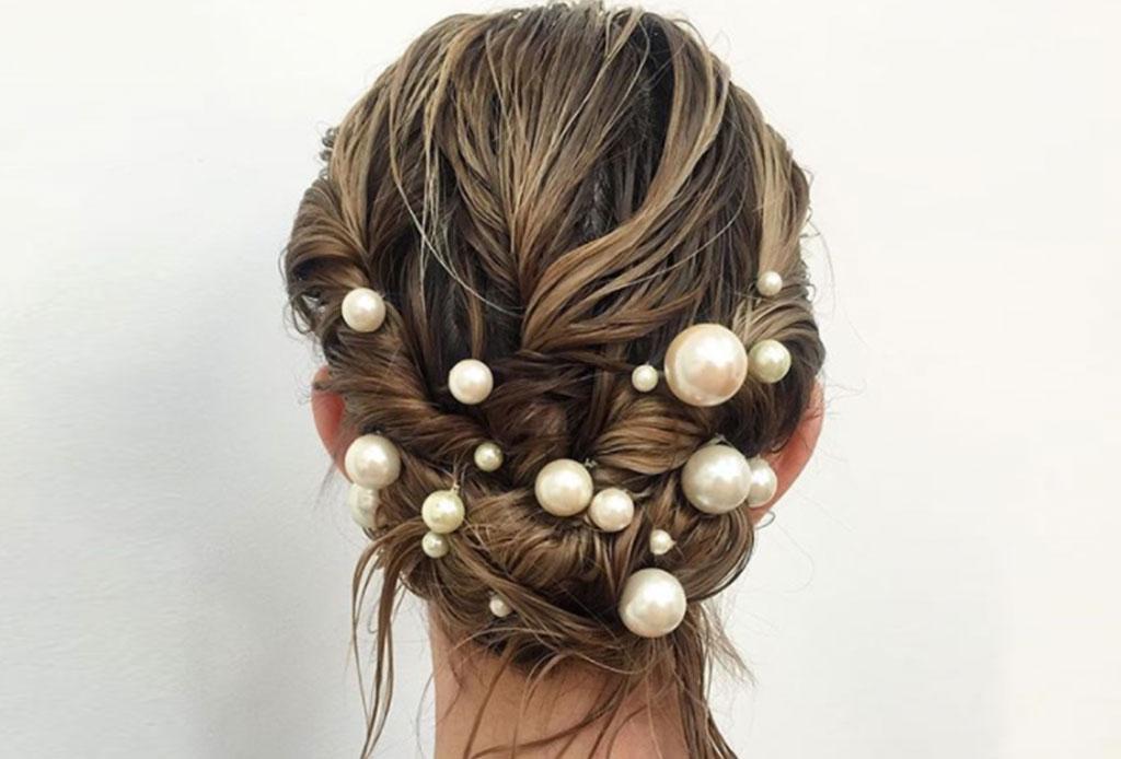 Transforma un peinado sencillo ¡con perlas! - perlas-6