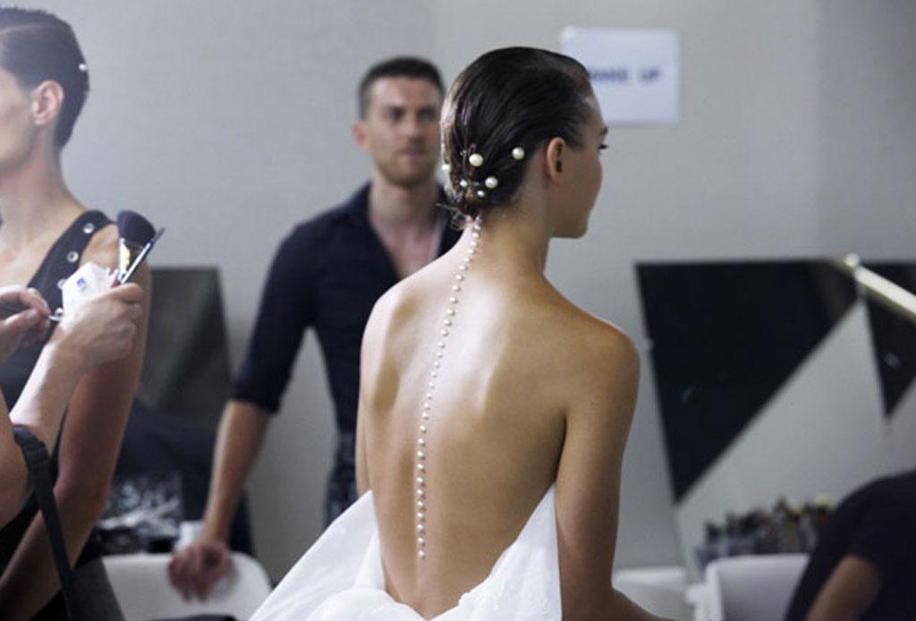 Transforma un peinado sencillo ¡con perlas! - perlas-peinado