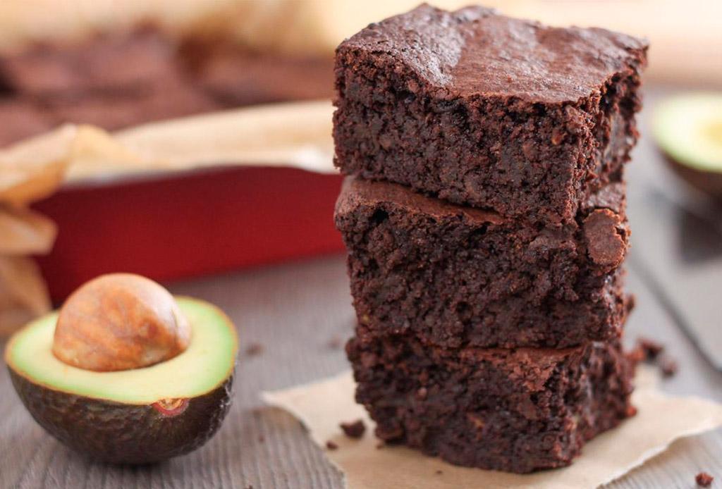 ¿Probarías unos brownies de AGUACATE?