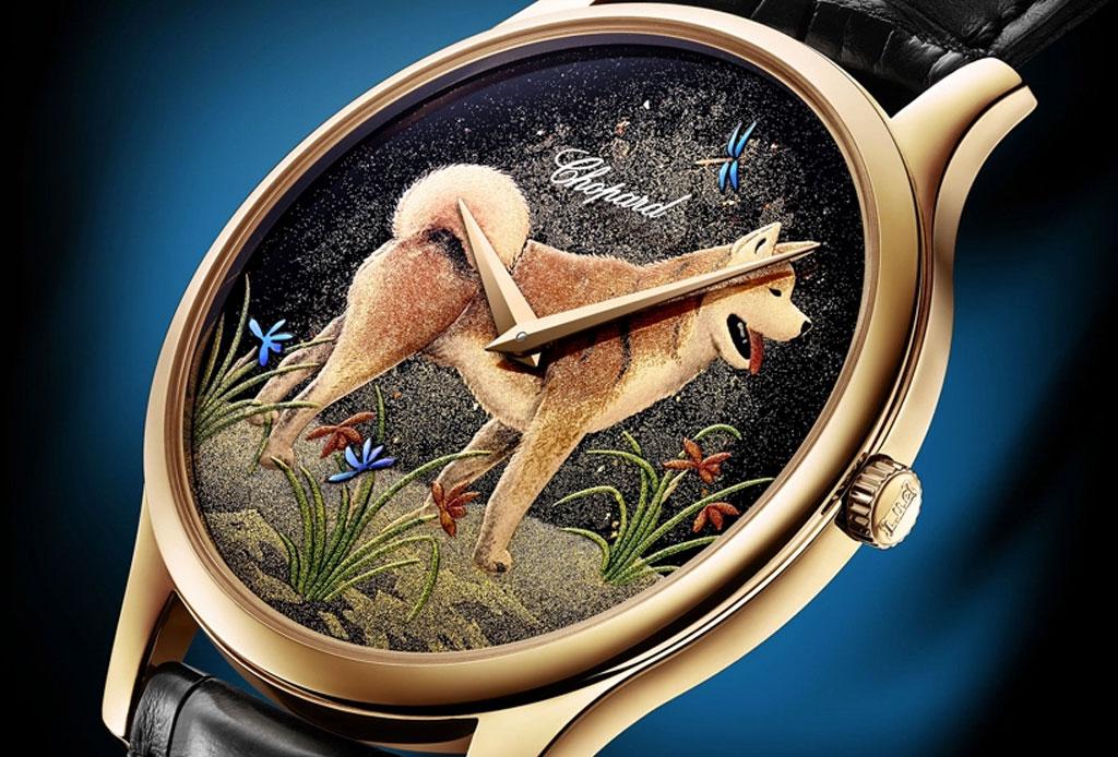 ¡Morirás de amor con este reloj que tiene a Hachiko pintado!