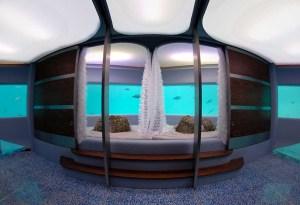 Las Maldivas ofrece relajación profunda en un spa único bajo el mar