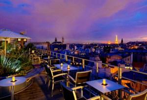 Conoce París desde las alturas en los rooftops más cool de la ciudad