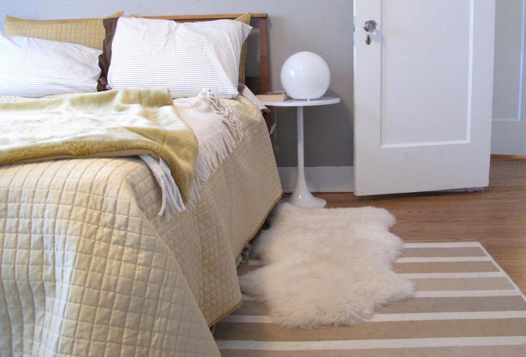 Cómo transformar tu habitación en un espacio cozy para invierno - tapete