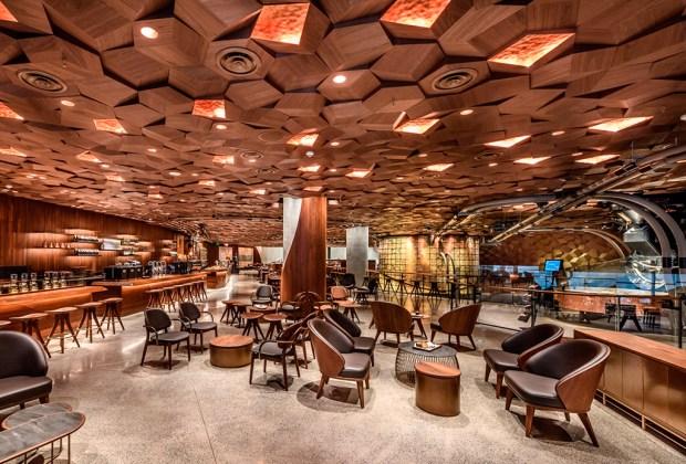 El Starbucks más grande del mundo acaba de abrir en China - cafe-1024x694