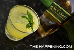 Celebra el fin de año con un Green Goblin preparado con Johnnie Walker Green Label