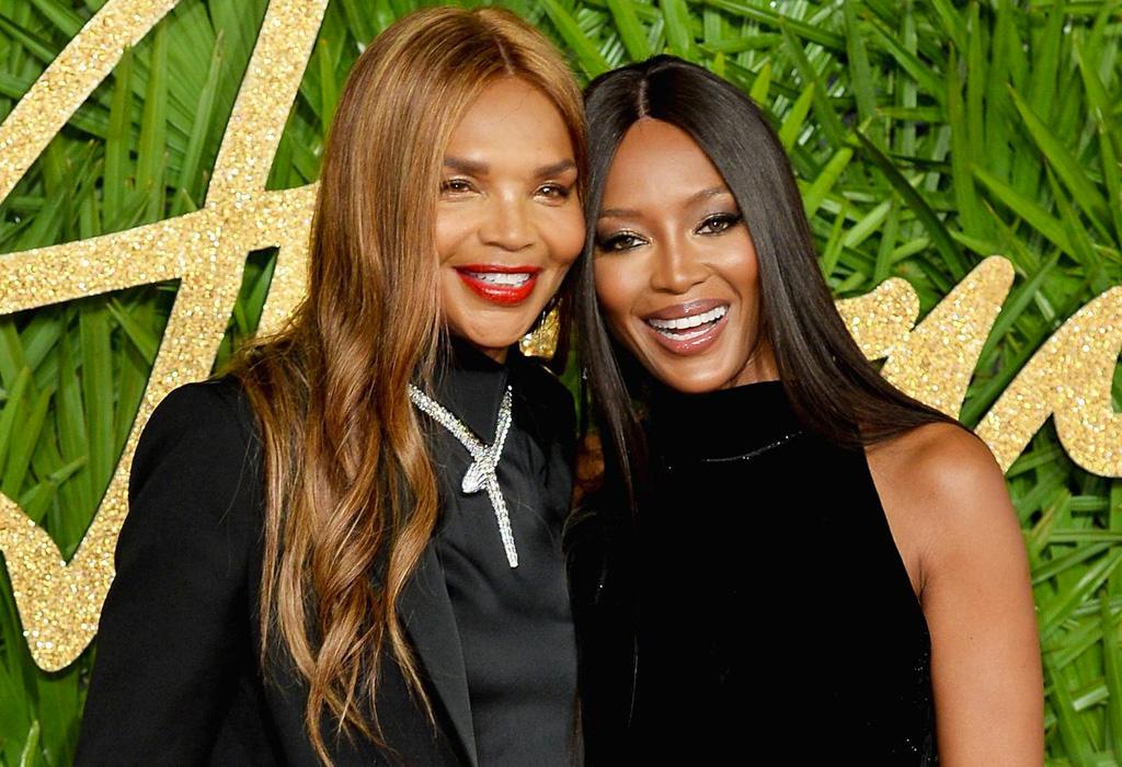 No creerás lo joven que se ve la mamá de Naomi Campbell - naomicampbel