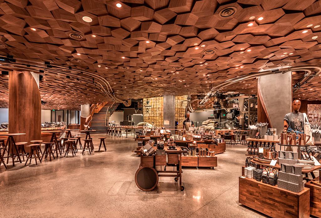 El Starbucks más grande del mundo acaba de abrir en China