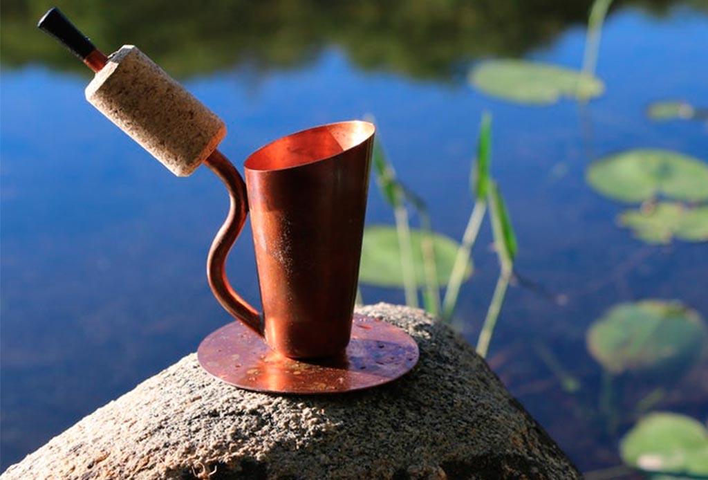 Existe una pipa en la que puedes tomar ¡café!