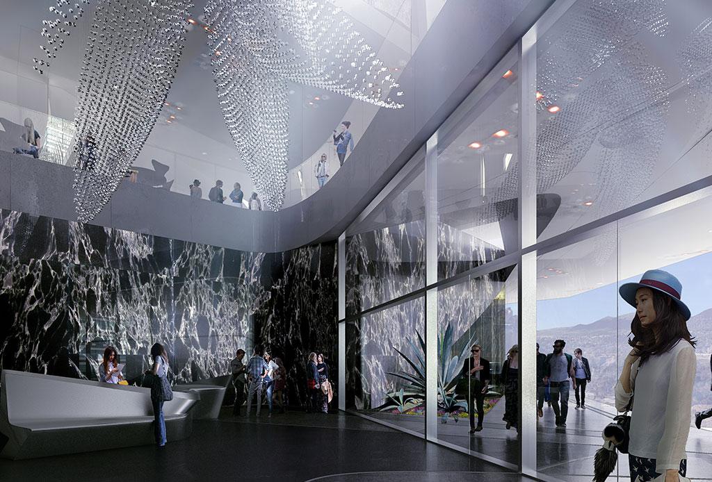 Un ambicioso proyecto de Zaha Hadid llega a la CDMX y estará en ¡Santa Fe! - torre-bora-1