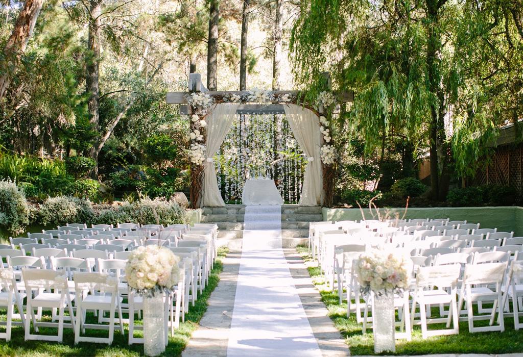 Tendencia en flores para bodas durante la primavera/verano - arcos