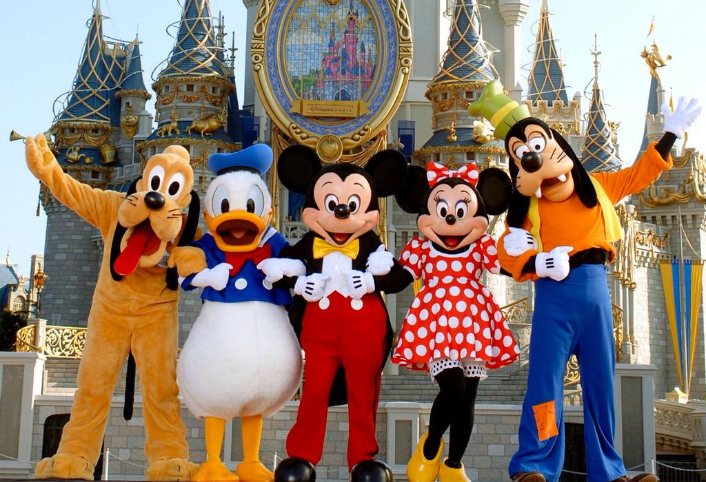 Personajes de Disney que tienen una estrella en el Paseo de la Fama