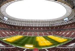 Así cuidan del frío las canchas de los estadios de Rusia